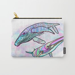 Humpback and Minke Whale Carry-All Pouch