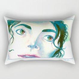 Color Eyes MJ Rectangular Pillow