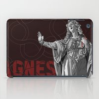 agnes iPad Cases featuring Agnes by Kelly Kistler