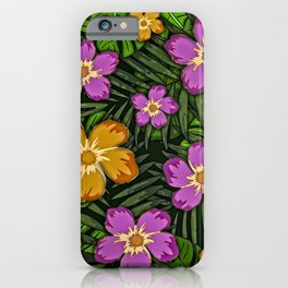 Tropical Botanicals iPhone Case