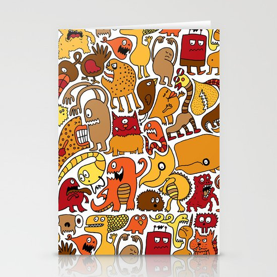 Creatures! Stationery Cards