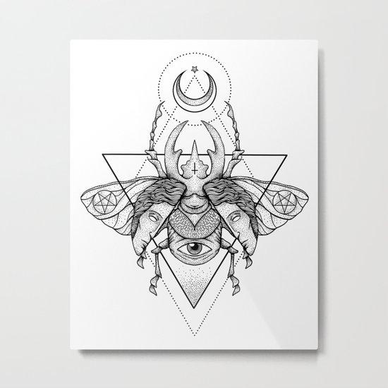 Occult Beetle II Metal Print