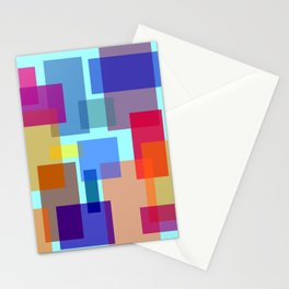 Abstract #535 Stationery Cards