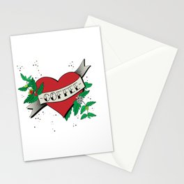 Love your coffee Stationery Cards