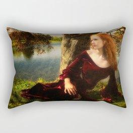 Lady of the Lake Rectangular Pillow