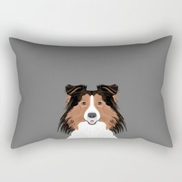 Jordan - Shetland Sheep Dog gifts for sheltie owners and dog people gift ideas perfect dog gifts Rectangular Pillow