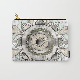 Moon Mandala Carry-All Pouch