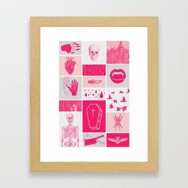 Fright Delight Framed Art Print