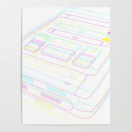SNES Gaming Poster