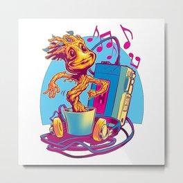 groots dancing Metal Print