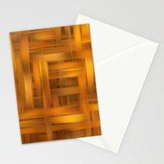 Digital wicker pattern Stationery Cards