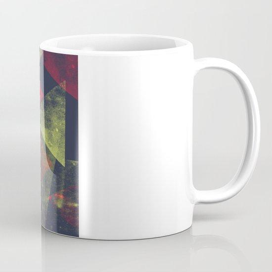 weathered triangles Mug