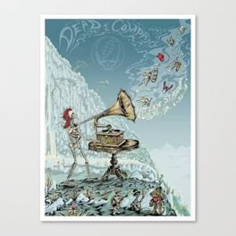 Dead and company Canvas Print