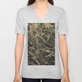 Brindisi black marble Unisex V-Neck