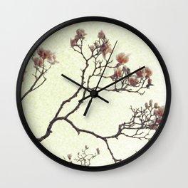 Blooming Dogwood Wall Clock