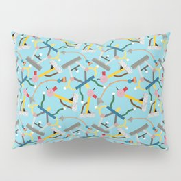Ettore Sottsass Memphis Style lamps and furniture Pillow Sham