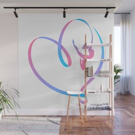 Rhythm of a Gymnast's Heart Wall Mural