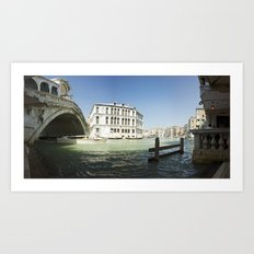 italy - venice - widescreen_604-606 Art Print