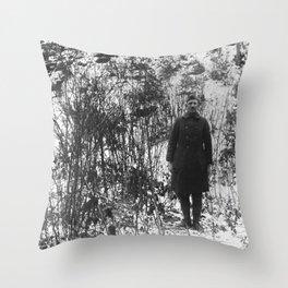 Sergeant York in the Argonne Forest - 1919 Throw Pillow