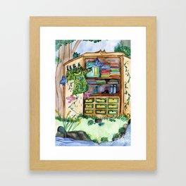 Magic Closet Framed Art Print