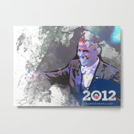 Obama 2012 Metal Print
