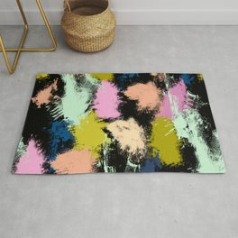 Dabs of paint Rug