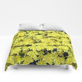 Happy Forsythia Comforters