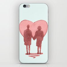 fight club ending iPhone Skin