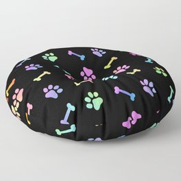 Dog Treats On Black Floor Pillow