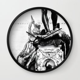 Renaissance in Florence Wall Clock