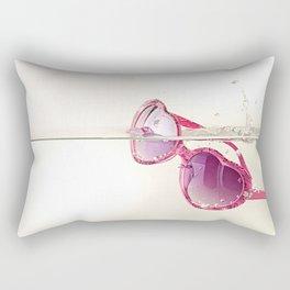 La vida en rosa Rectangular Pillow