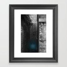 Silence in the Alley Framed Art Print