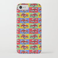 mini cooper iPhone & iPod Cases featuring mini cooper by Pedro Vale