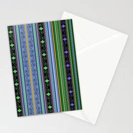 Aztec ethnic texture Stationery Cards