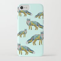 foxes iPhone & iPod Cases featuring Foxes by nessieness