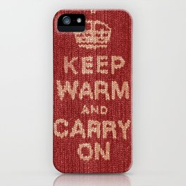 Winter Lovers I iPhone Case
