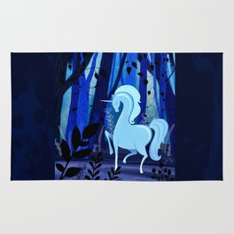 The Loveliest Of Them All Was The Unicorn Rug
