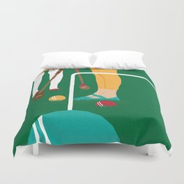 80s TEEN MOVIES :: HEATHERS Duvet Cover