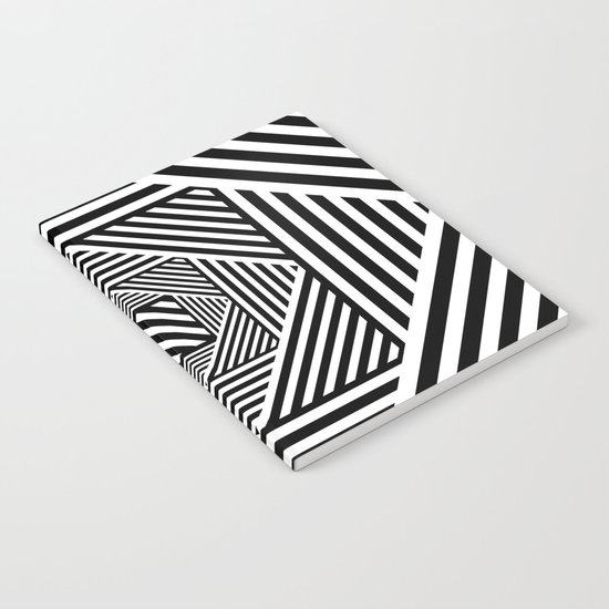 B&W Secret Passage Notebook