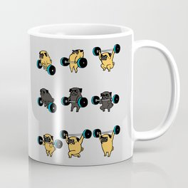 OLYMPIC LIFTING PUGS Coffee Mug