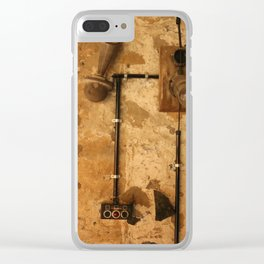 Heavy Industry - Makeshift Electrics Clear iPhone Case