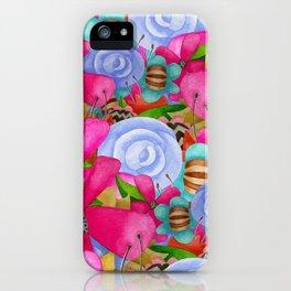 Electric Garden iPhone Case
