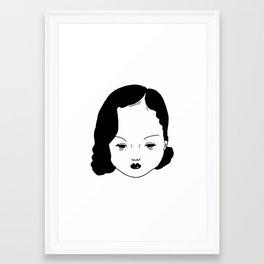MundaneLady Framed Art Print
