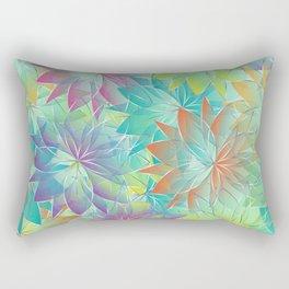 Flower Sea Rectangular Pillow