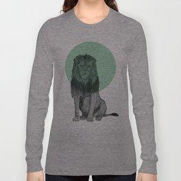 sitting lion Long Sleeve T-shirt