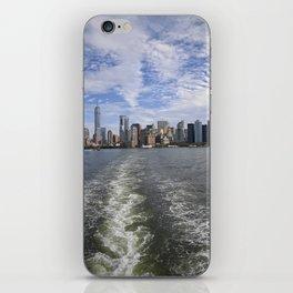 Sandwiched NYC Skyline iPhone Skin