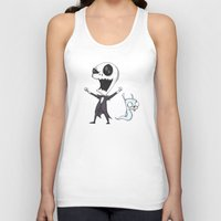 invader zim Tank Tops featuring Invader Jack!  by Ludwig Van Bacon