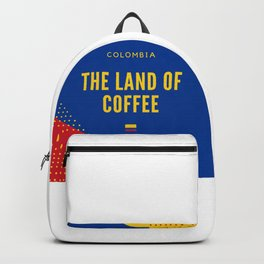 Colombia the Land of Coffee Backpack