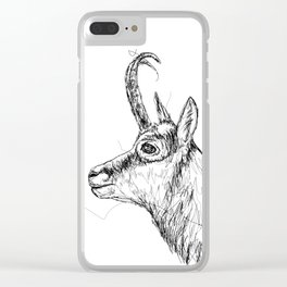 Gams Scribble Clear iPhone Case