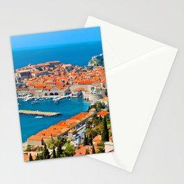 Croatia Harbor Stationery Cards